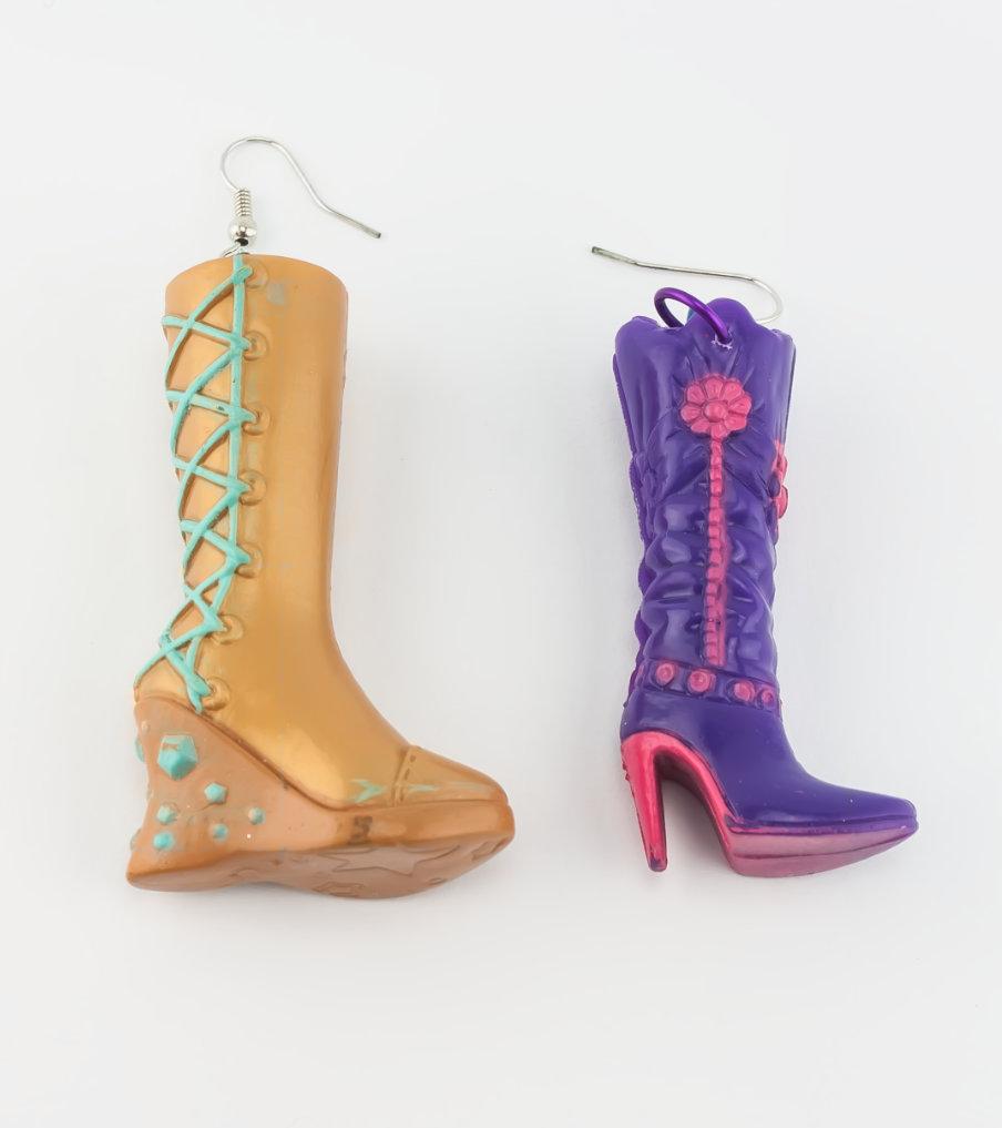 Boots - oorbellen | Sieraad - Belinda Brama