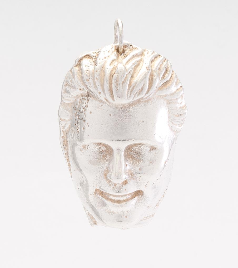 Ken hanger zilver | Sieraad - Belinda Brama
