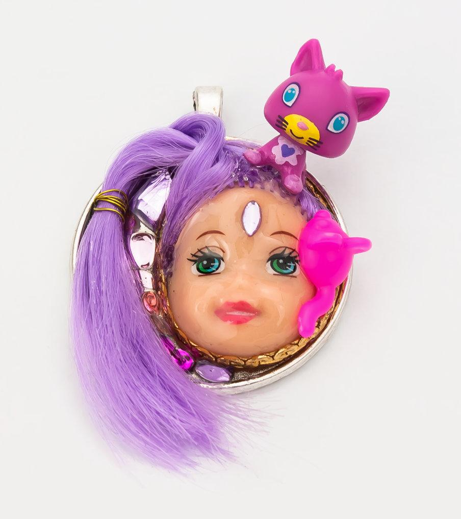 Purple child - hanger | Sieraad - Belinda Brama