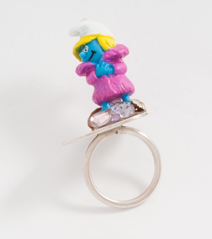 Smurfin ring | Sieraad - Belinda Brama