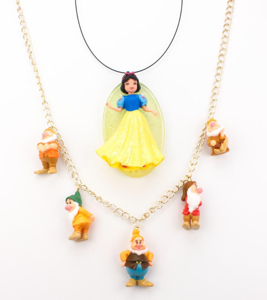 Snow white + 5 dwarfs - hangers | Sieraad - Belinda Brama