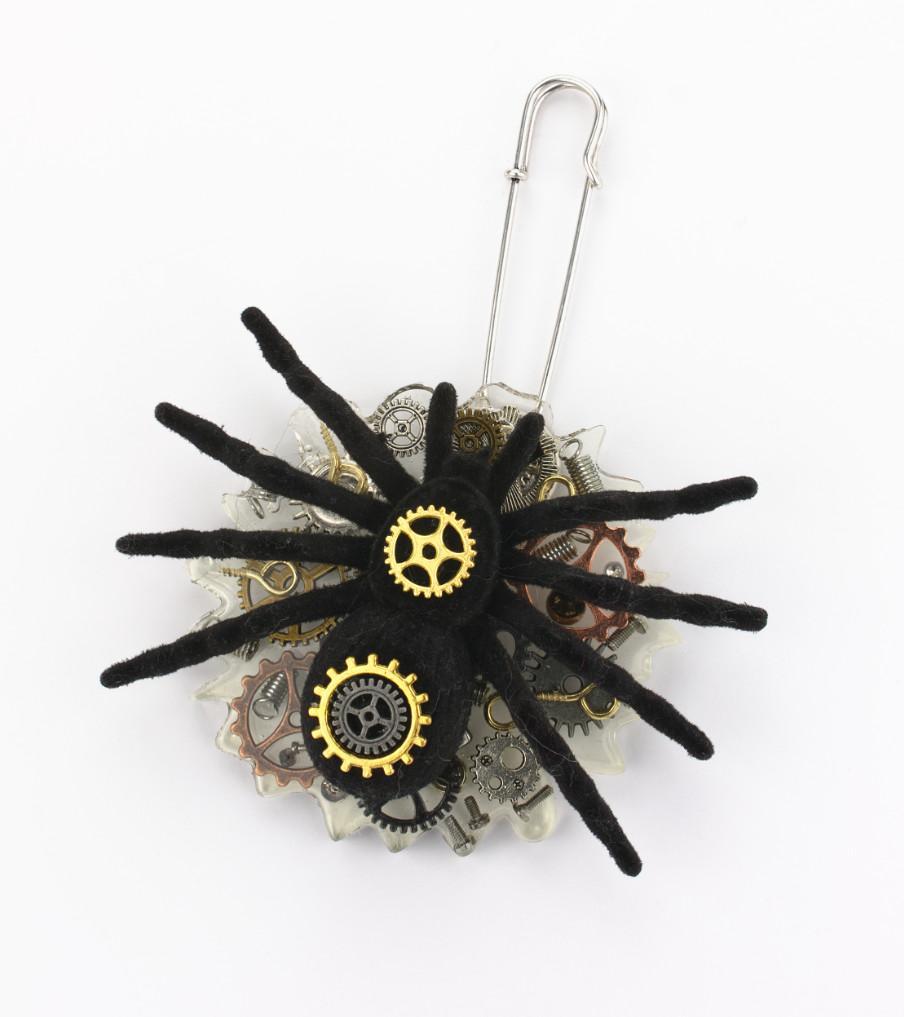 Insects - Spider Steampunk - broche | Sieraad - Belinda Brama