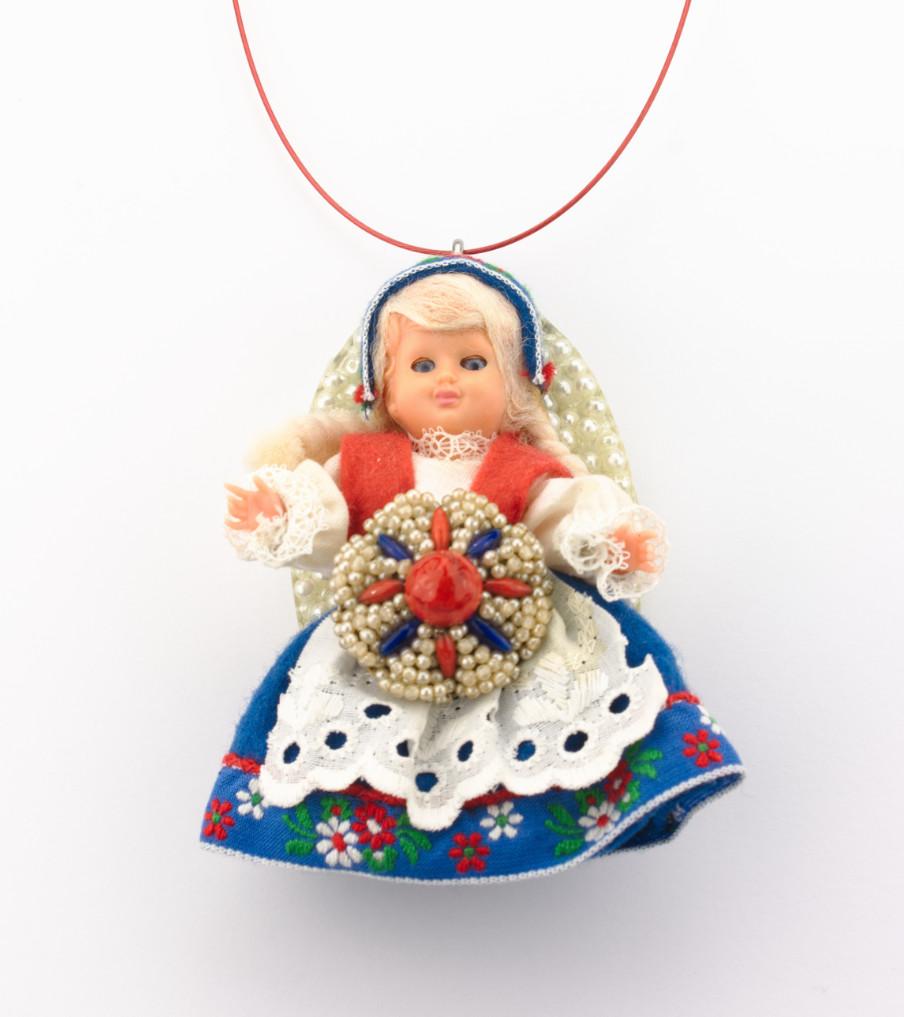 Traditional Dolls - Hardanger Noorwegen - hanger | Sieraad - Belinda Brama