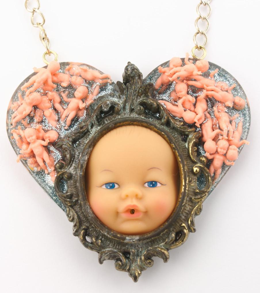 Various - Heart Babies - hanger | Sieraad - Belinda Brama